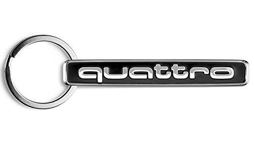 Audi アウディー quattoro クワトロ オフィシャル キーリングの画像