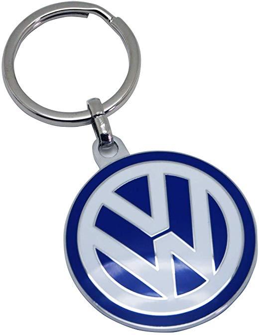 Volkswagen フォルクスワーゲン オフィシャル エンブレム キーリングの画像