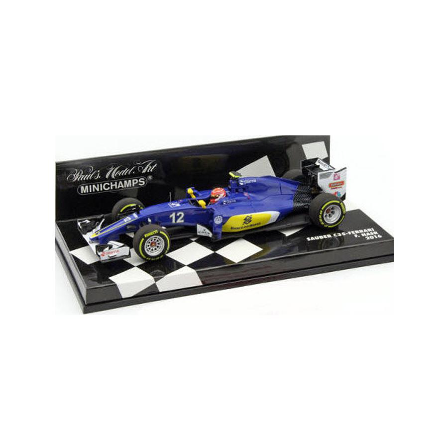ミニチャンプス 1/43 ザウバー F1チーム フェラーリ C35 フェリペ・ナスル 2016の画像