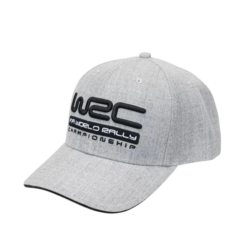 WRC オフィシャル サンドウィッチ ベースボール キャップ グレーの画像