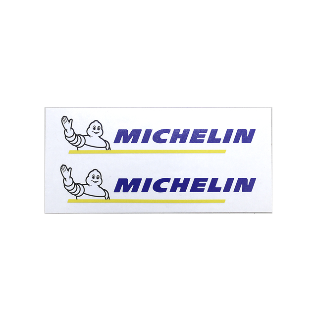 MICHELIN ミシュラン ロゴ ステッカー (透明/小)の画像