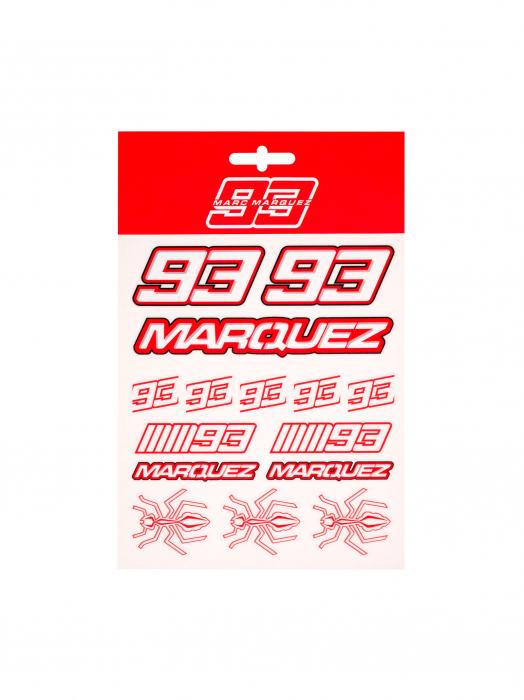 2020 マルク・マルケス オフィシャル ステッカーセット (M)の画像