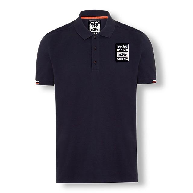 Red Bull レッドブル KTM Racing Team オフィシャル Mono ポロシャツ ネイビーの画像