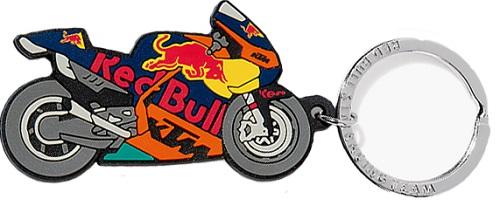 レッドブル KTM Racing Team オフィシャル motoGP バイク ラバー キーリングの画像