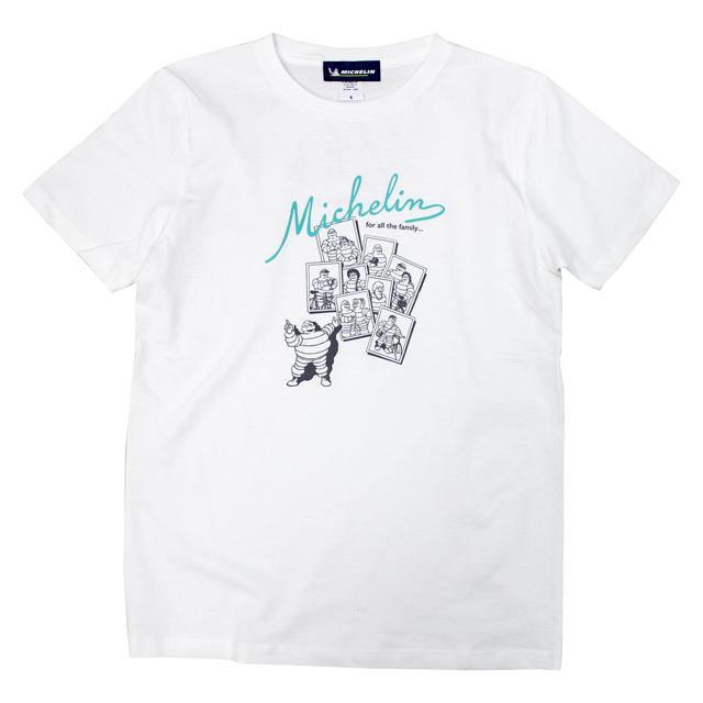 ミシュラン オフィシャル ファミリー Tシャツ ホワイトの画像