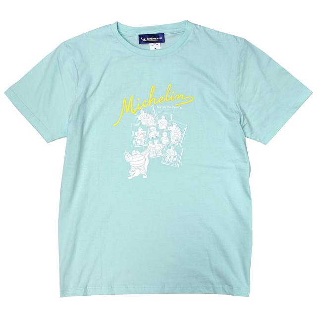 ミシュラン オフィシャル ファミリー Tシャツ ライトブルーの画像
