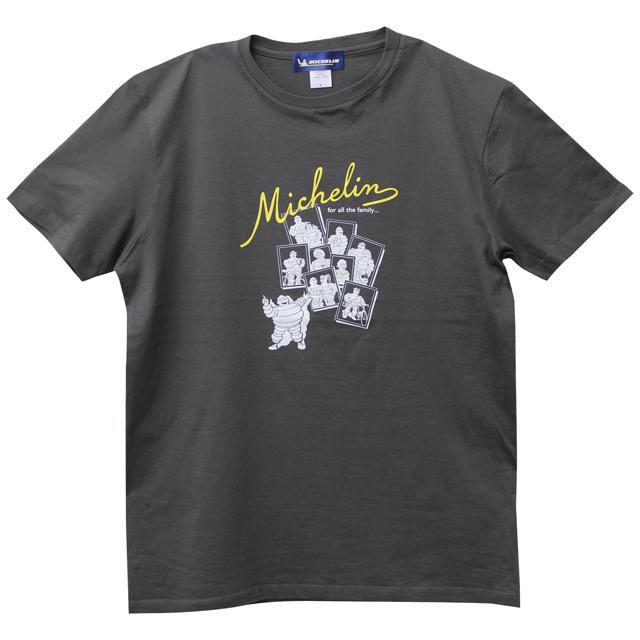 ミシュラン オフィシャル ファミリー Tシャツ チャコールの画像