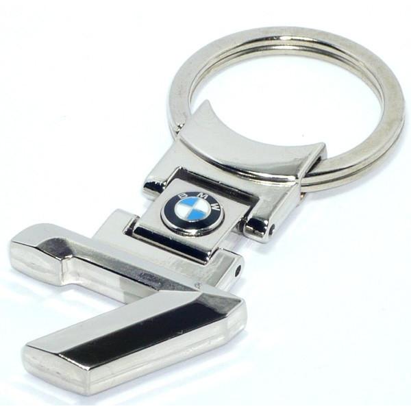 """BMW """"7""""キーリング画像"""