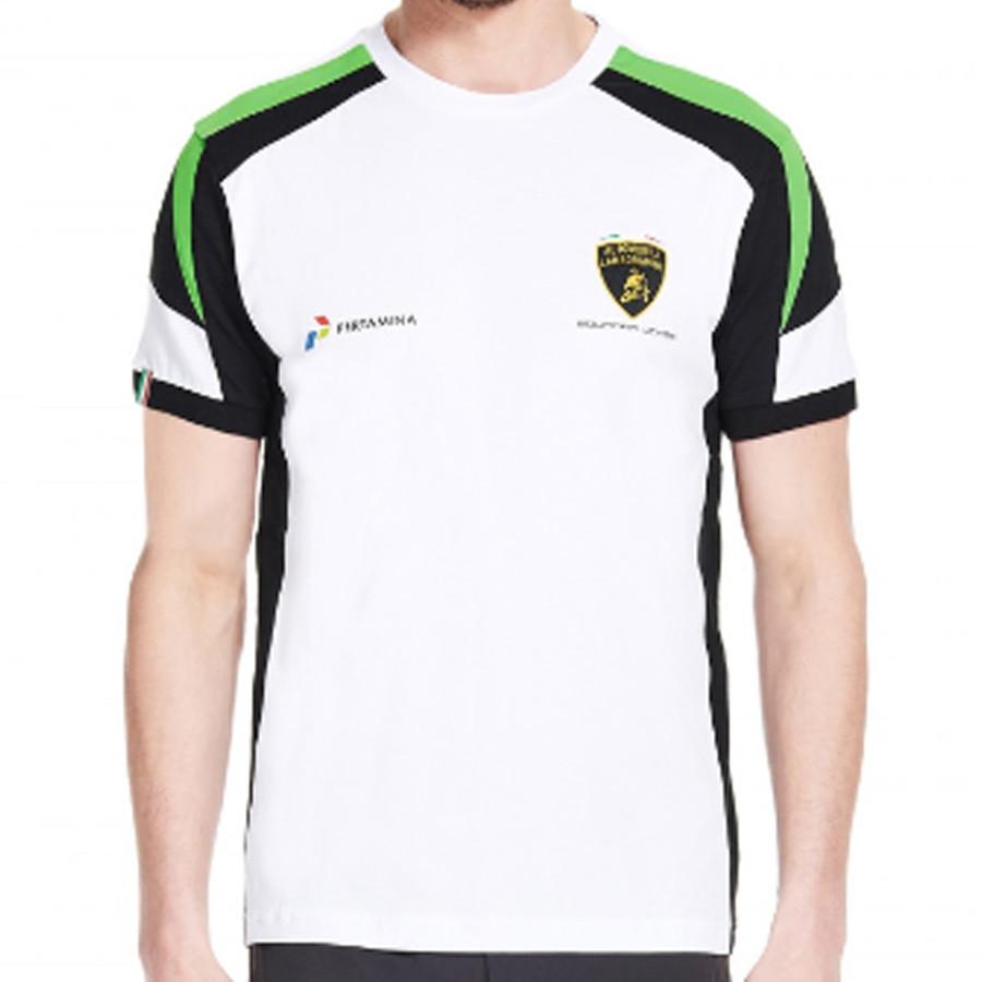 ランボルギーニ スクアドラコルセ チーム Tシャツ ホワイトの画像
