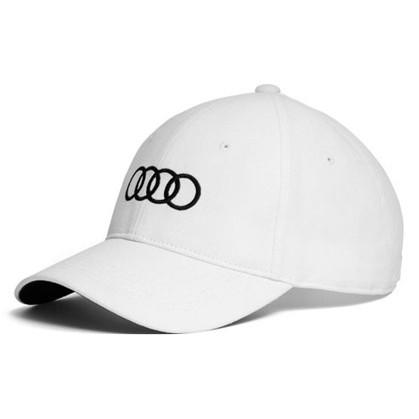 Audi ロゴ BB キャップ ホワイトの画像