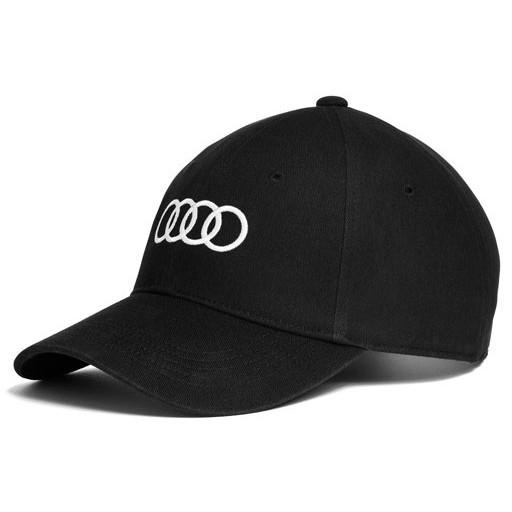 Audi ロゴ BB キャップ ブラックの画像