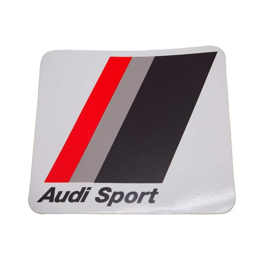 アウディ スポーツ ヘリテージ ステッカー スモールサイズの画像