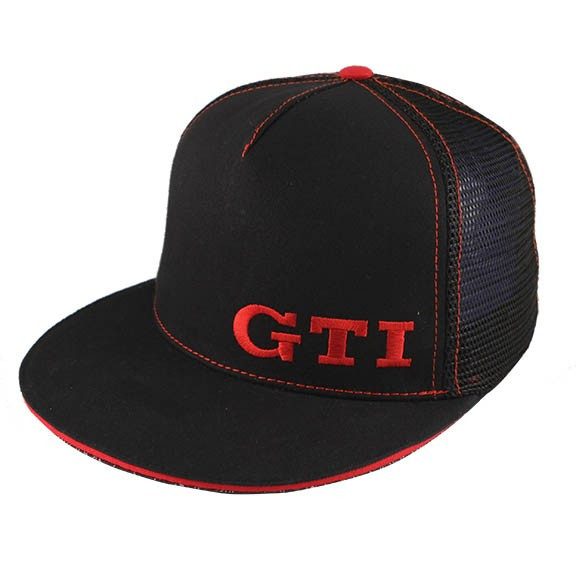 フォルクスワーゲン オフィシャル ドライバーギア GTI フラット トラッカーキャップの画像
