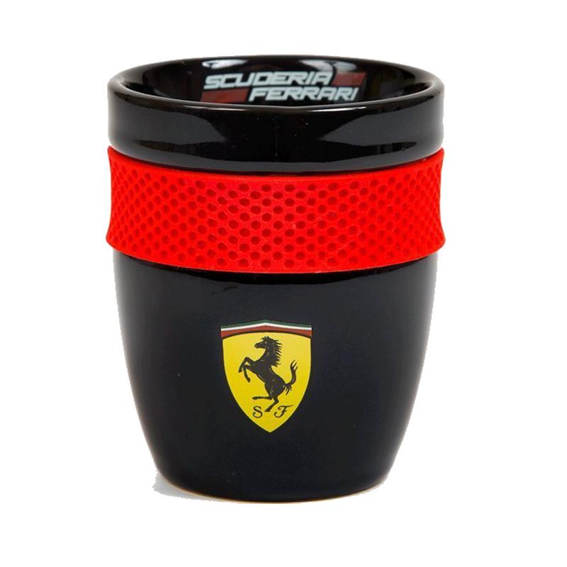 スクーデリア フェラーリ セラミックカップ ブラックの画像