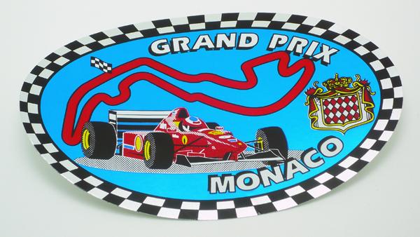 モナコ モンテカルロ GP ステッカーの画像