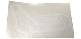モンツァサーキット オフィシャル コースステッカー ホワイトの画像