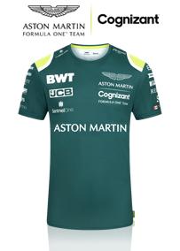 2021 後期 アストンマーチン Cognizant F1 チーム スポンサー Tシャツ / グリーン