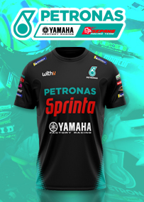 2021 ペトロナス ヤマハ セパン レーシング チーム Tシャツ