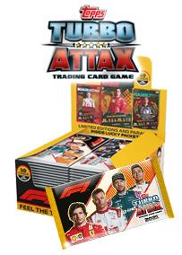 F1 Turbo Attax 2021 トレーディングカード - 1パック