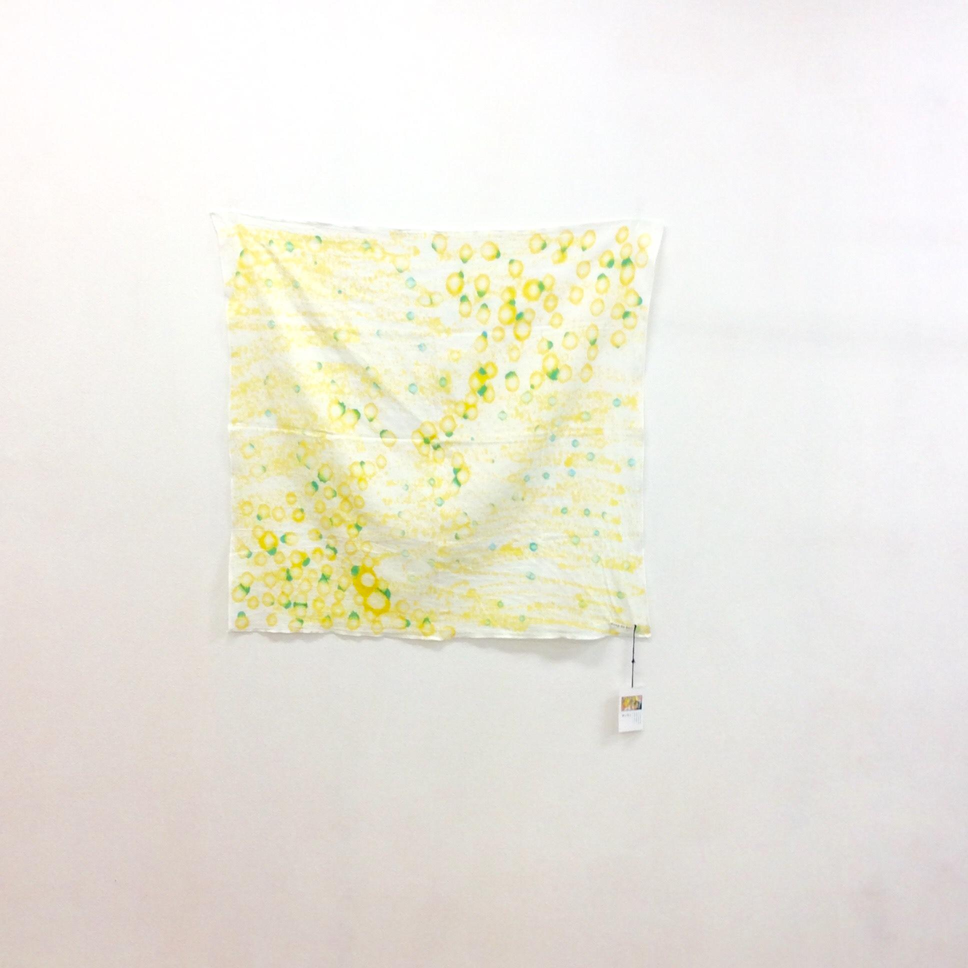 スプラッシュ染めスカーフcの画像