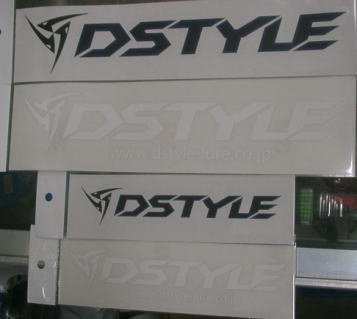 DSTYLEカッティングステッカーの画像