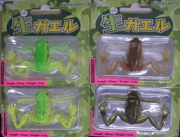 生ガエルの画像
