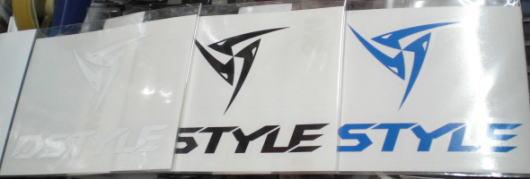 DSTYLEカッティングロゴステッカーType2の画像