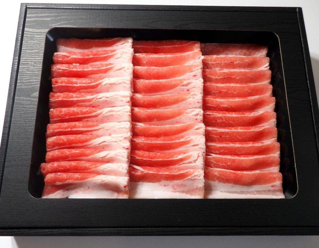 【冷蔵】バラ肉しゃぶしゃぶセット(2人前)の画像