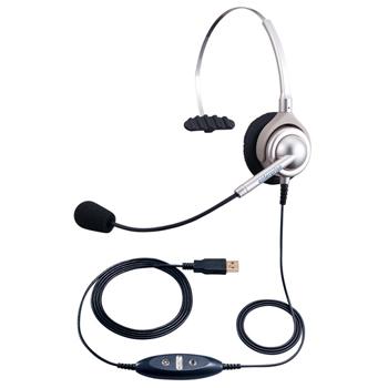 エンタープライズ USBヘッドセット片耳タイプ画像
