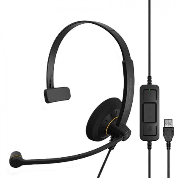 エントリークラス 片耳USBヘッドセットSC 30 USB MLの画像