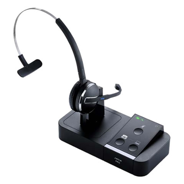 Japan DECT(1.9GHz帯)準拠ビジネスホン、PCソフトフォンに同時対応する高性能ワイヤレスヘッドセットJabra PRO 9450画像