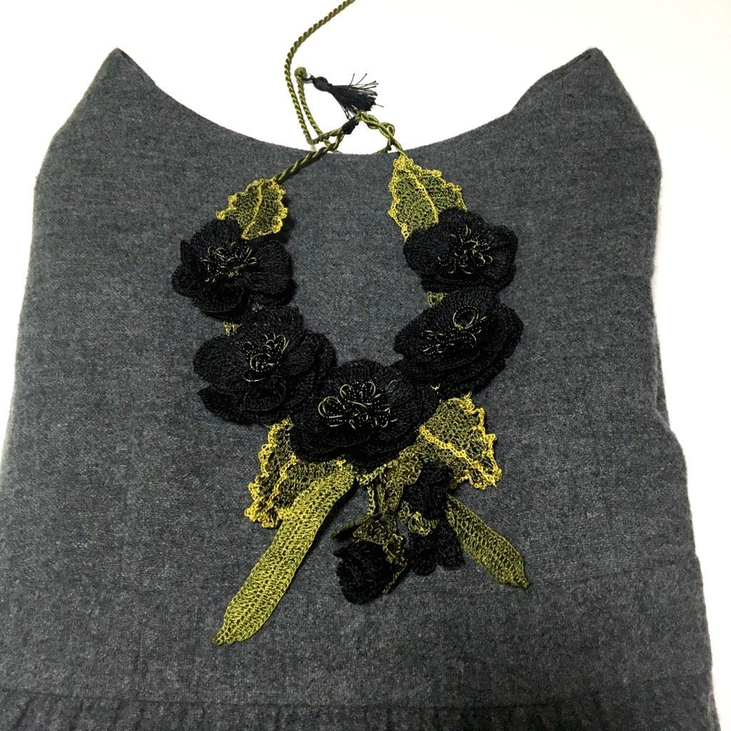 ネックレス 手編みフンダコレクション画像