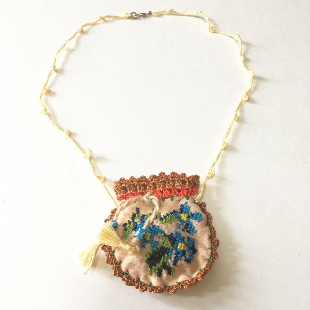 ナザールボンジュウアクセサリーお守り袋の画像