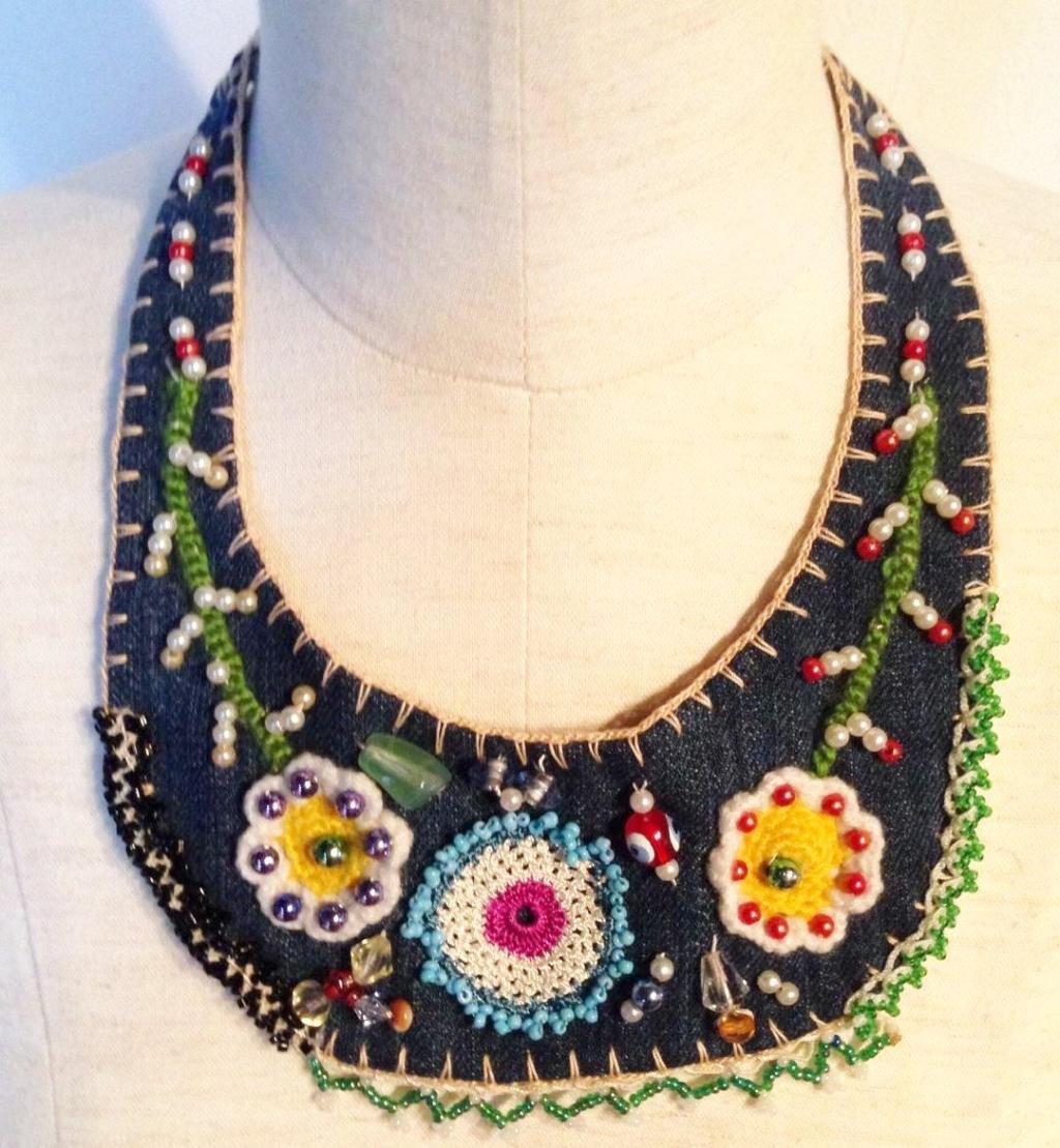 トルコの伝統が詰まったつけ襟の画像