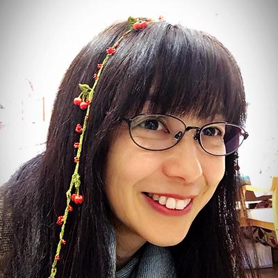 さくらんぼのメガネチェーン