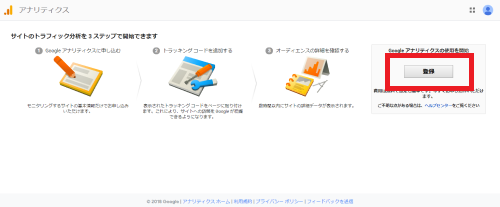 GoogleAnalyticsの連携方法画像