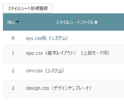 サイトにCSS(スタイルシート)を追加する画像