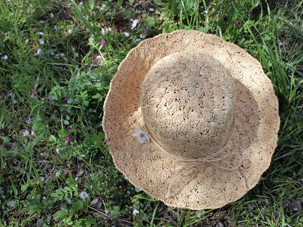 夏限定♪麦わら帽子の画像