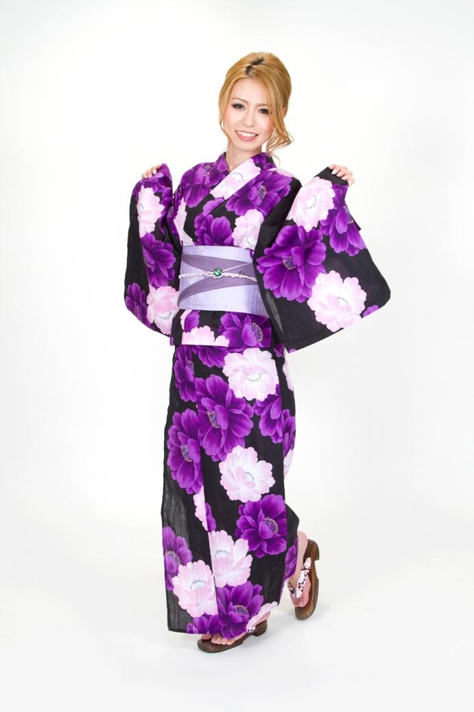 【夏限定】花柄浴衣の画像