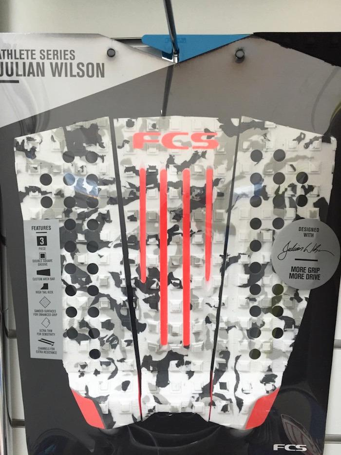 FCS JULIAN WILSON CAMO/BLOOD ORANGE(デッキパッド)の画像