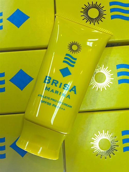 BRISA MARINA UVクリーム・ホワイト SPF50/PA++++(日焼け止め)の画像