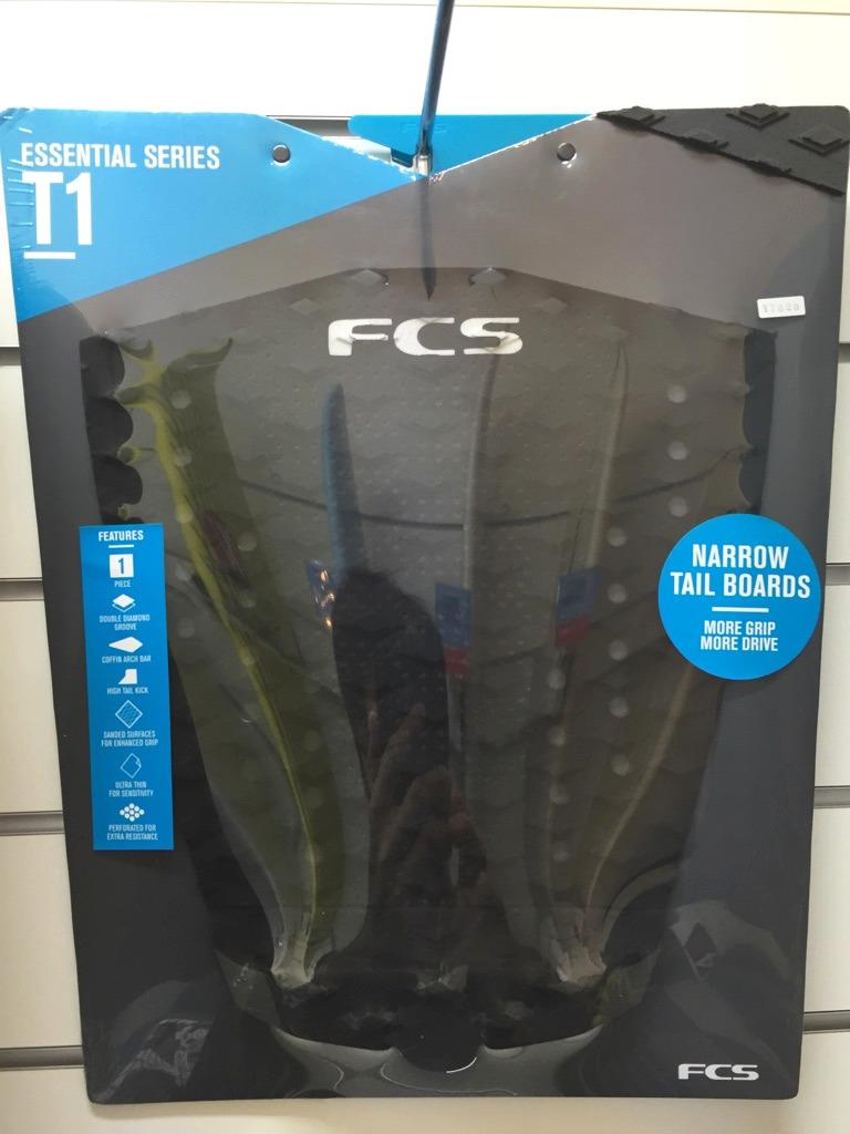 FCS T1 BLACK/CHARCOAL(デッキパッド)の画像