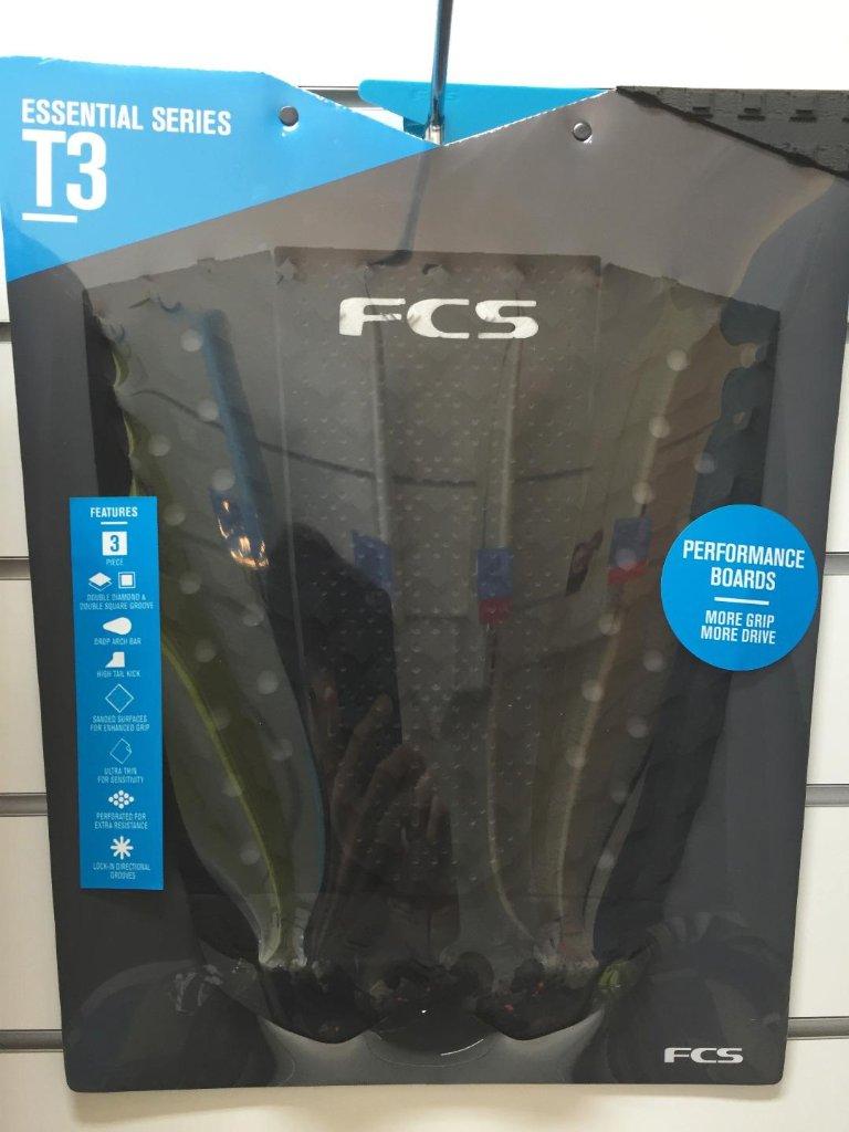 FCS T3 BLACK/BURNT ORANGE(デッキパッド)の画像
