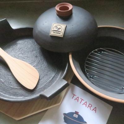MOONスキレット&TATARA鍋【ネット・トレー付】画像