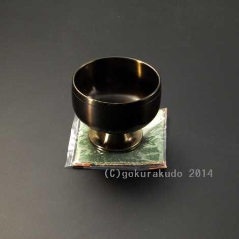 高台りん『遊亀』 2.5寸の画像