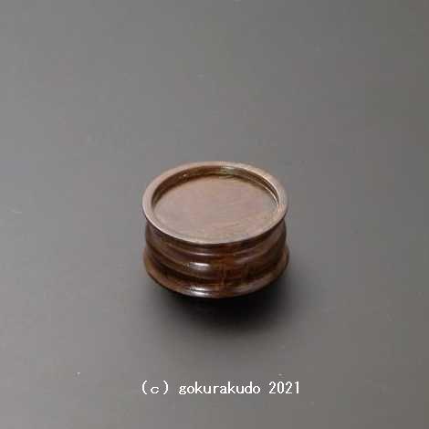 ブッキ台 桑 扁平丸型の画像