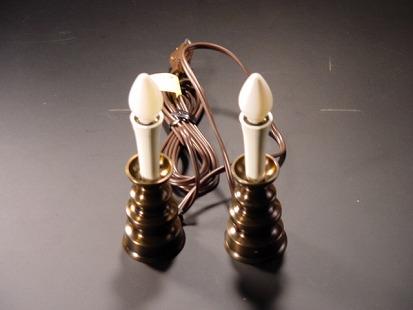 電気ローソク【一対タイプ】(コード付き)の画像