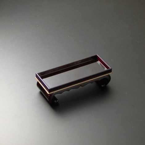サンメニー仏器膳5.0寸 タメ(フチ金)の画像