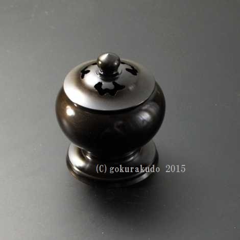 香炉・蓋付き香炉/かぶら型香炉 4寸用の画像