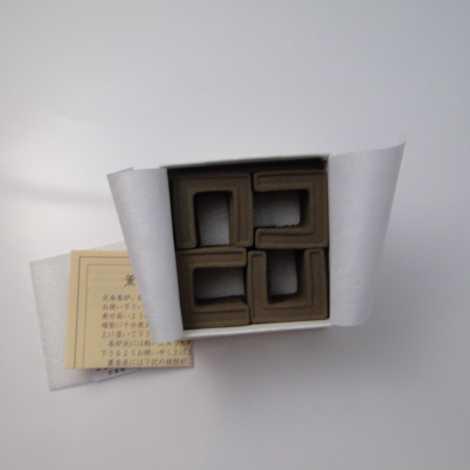 沈香 薫香炭 角型(小) [火舎香炉 柄香炉用]の画像
